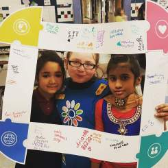 "Daisy Troop 86222 with the ""puzzle frame"""