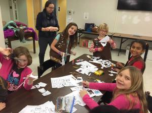 "Troop 68137 Making ""Flat Savannahs"""