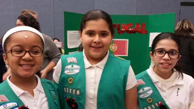 New Bedford Troop 88116 who presented about Portugal