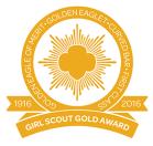 gold award centennial logo