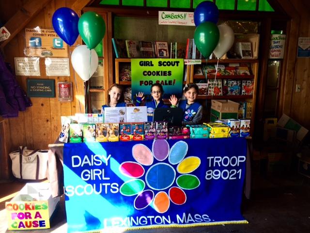 Lexington Daisy Troop 89021 at Wilson Farms
