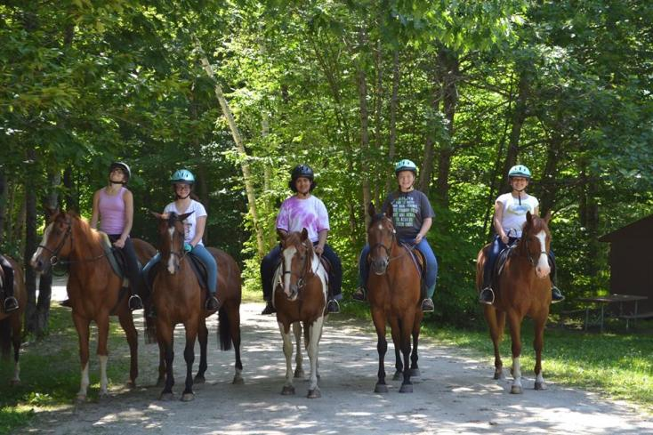 horseback riding - Wabasso